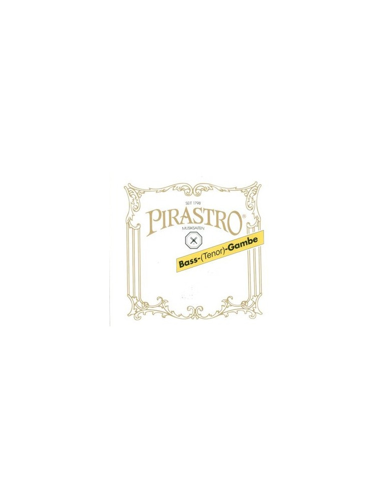 Basse de Viole : LA (II) Boyau Pirastro