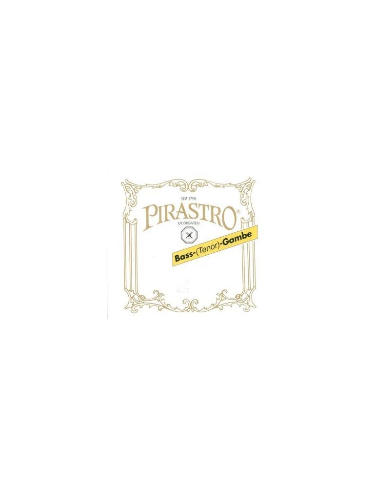 Basse de Viole : RE (VI) Boyau argenté Pirastro
