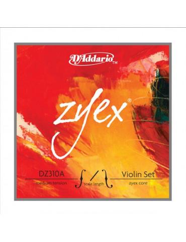Jeu de 4 cordes Violon Zyex Composite - Petites tailles