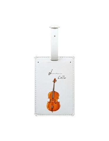 Etiquette bagage violoncelle