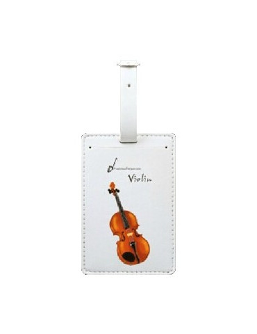 Etiquette bagage violon