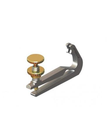 Tendeur Alto titanium 3.3 g vis dorée