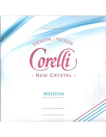 Jeu de 4 cordes - Petites tailles Violon Crystal