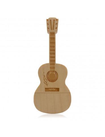 Clef USB en bois Guitare 8Go