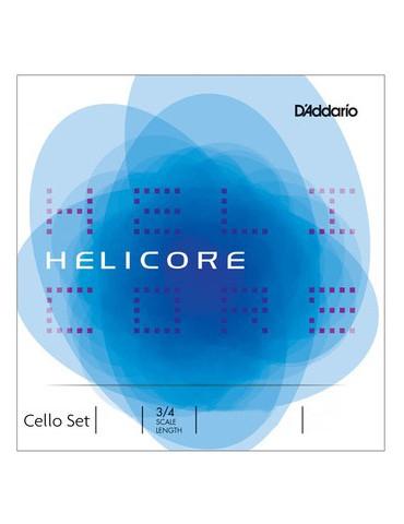 Jeu de 4 cordes - Petits violoncelles Helicore