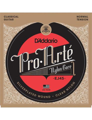 Jeux cordes Guitare accoustique D'Addario Pro Arte EJ45