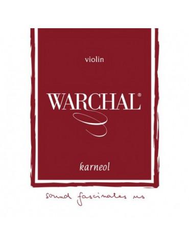 Corde Violon Warchal KARNEOL RE