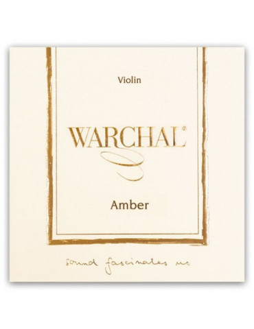 Corde Violon Warchal AMBER MI amplifié