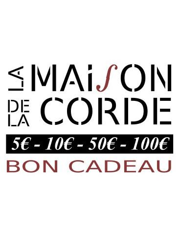 Bon Cadeau MAISON DE LA CORDE