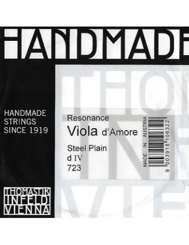 Corde Viola d'Amore Thomastik Handmade Resonance RE (IV)