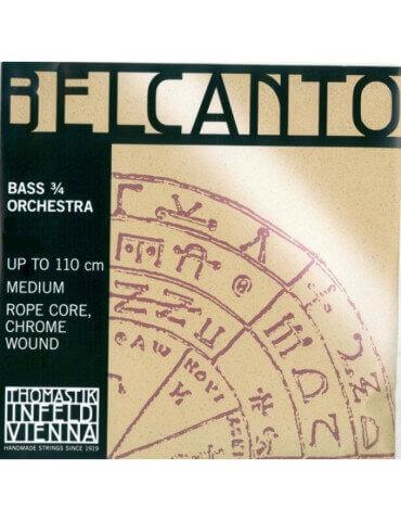 Jeu de 4 cordes Petites Contrebasses Belcanto Orchestre