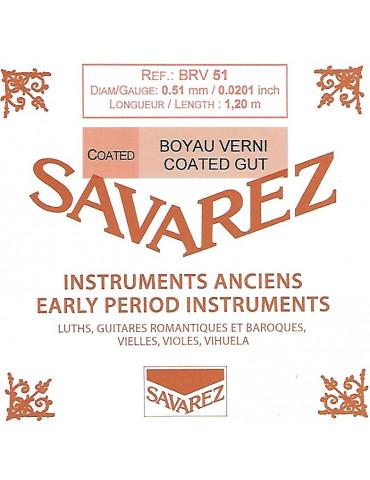 Corde Boyau Rectifié Verni - BRV51