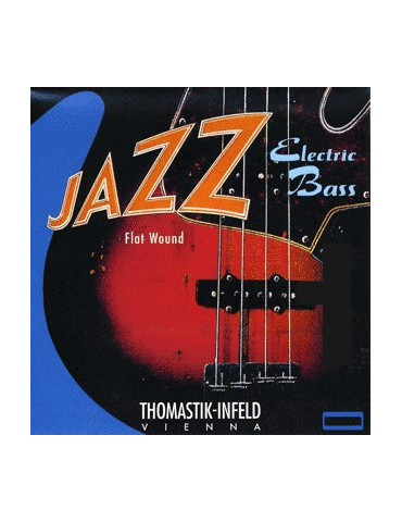 Jeu cordes Basse Electrique Thomastik-Infeld JF364 Jazz Flatwound Super Long Scale
