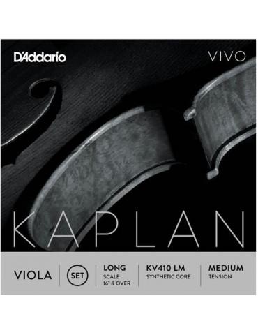 Jeu de 4 cordes Alto KAPLAN VIVO KV410