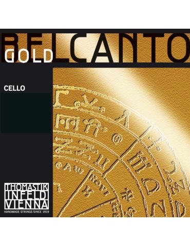 Corde Violoncelle Belcanto gold UT Gold