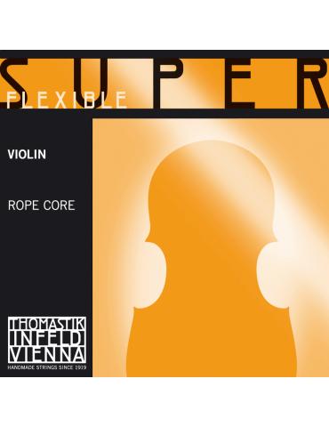 Jeu de 4 cordes Violon superflexible