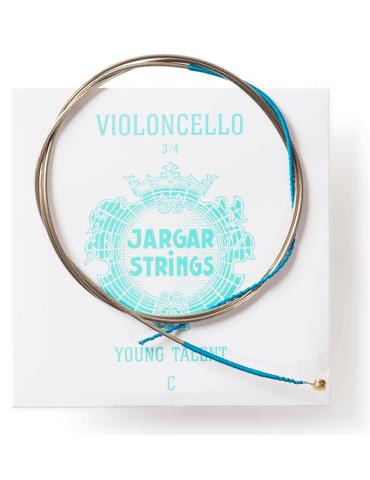 Corde Violoncelle Jargar Young Talent UT 3/4