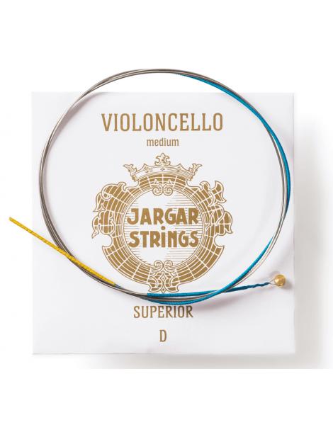 Corde Violoncelle Jargar RE SUPERIOR tirant moyen