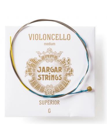 Corde Violoncelle Jargar SOL SUPERIOR tirant moyen
