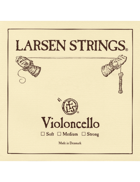 Jeu de 4 Cordes Larsen - Petits violoncelles