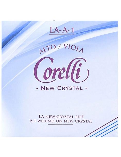 Jeu de 4 cordes avec LA filé sur acier Alto Crystal