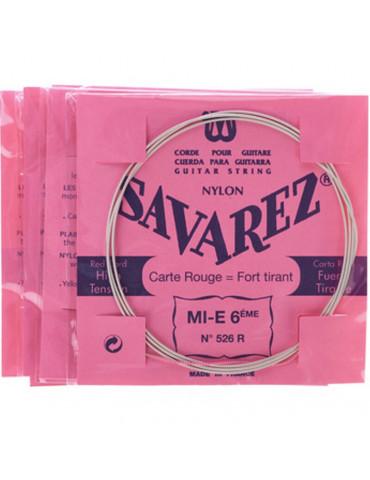 Corde Guitare Carte Rouge MI (1) 521R Tirant Fort