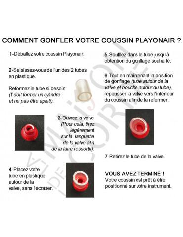 Notice de gonflage du coussin violon Playonair