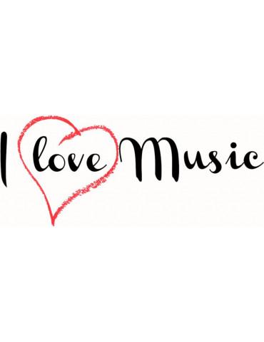 Carte cadeau I Love Music