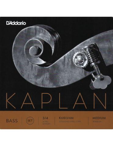 Jeu de 4 cordes Contrebasse Kaplan Orchestre
