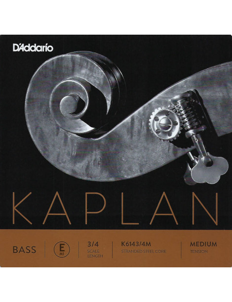 Corde Contrebasse D'Addario Kaplan Orchestre MI K614 3/4