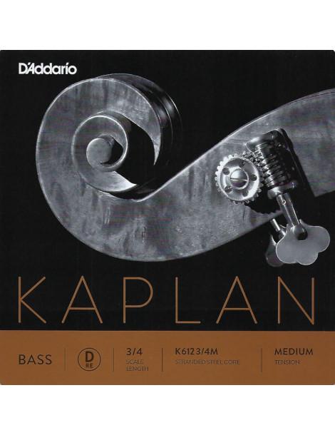 Corde Contrebasse D'Addario Kaplan Orchestre RE K612 3/4