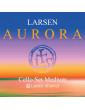 Jeu de 4 cordes Petit Violoncelle Larsen aurora taille 1/16, 1/8, 1/4, 1/2 et 3/4