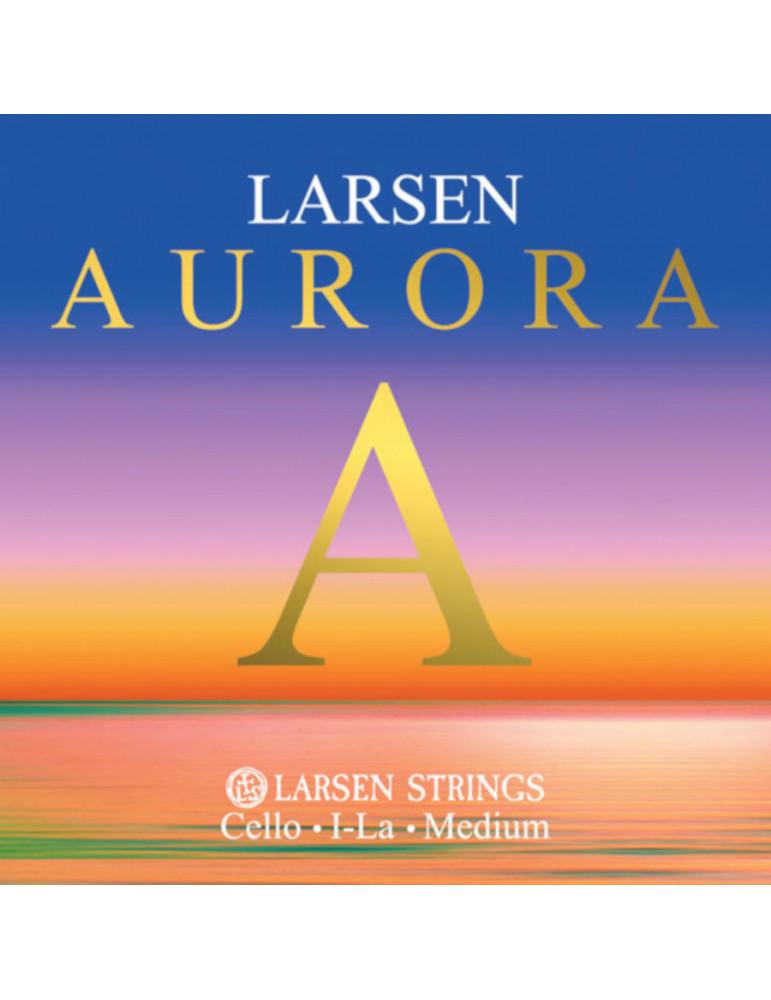 Corde Petit Violoncelle Larsen LA Aurora taille 1/16, 1/8, 1/4, 1/2 et 3/4