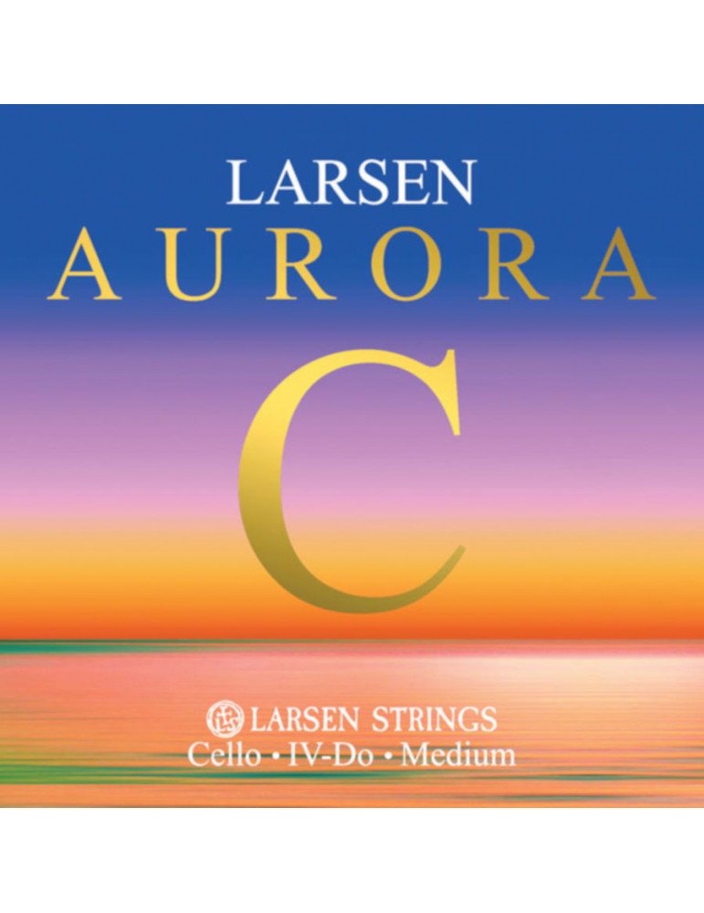 Corde Petit Violoncelle Larsen UT Aurora taille 1/16, 1/8, 1/4, 1/2 et 3/4