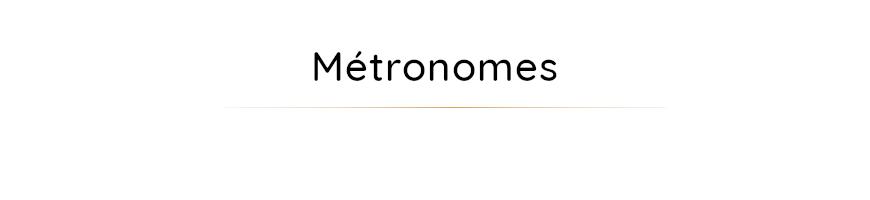 Métronomes et autres accessoires