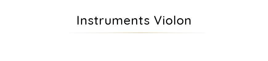 instruments violon