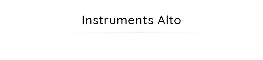 Instruments alto