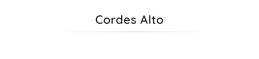 Cordes pour alto