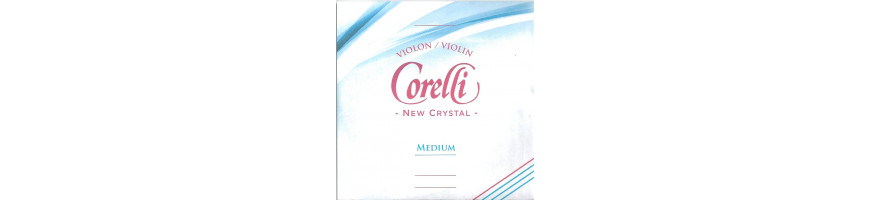 Cordes violon Crystal