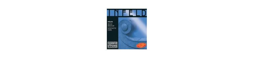 Cordes violon Infeld Bleu