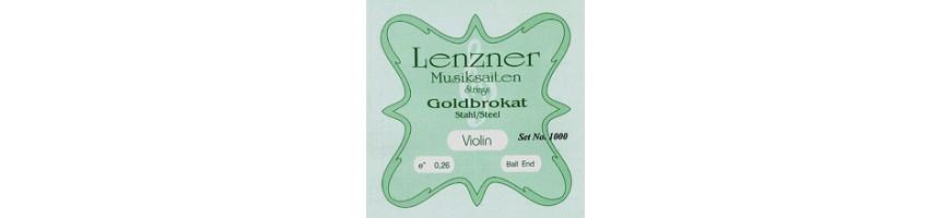 Cordes violon Lenzner Goldbrokat