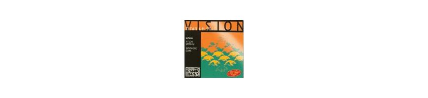 Cordes violon Vision Titanium Solo