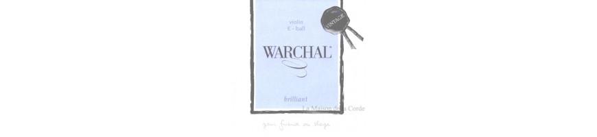 Cordes violon Warchal vintage brillant