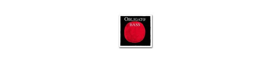 Cordes contrebasse Obligato Orchestre