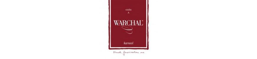 Cordes violon Warchal Karneol