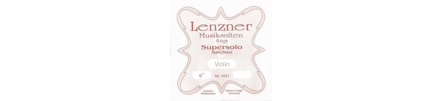 Cordes violon Lenzner Supersolo