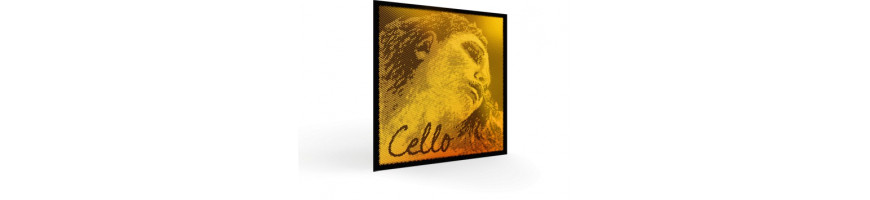 Cordes violoncelle Evah Pirazzi Gold