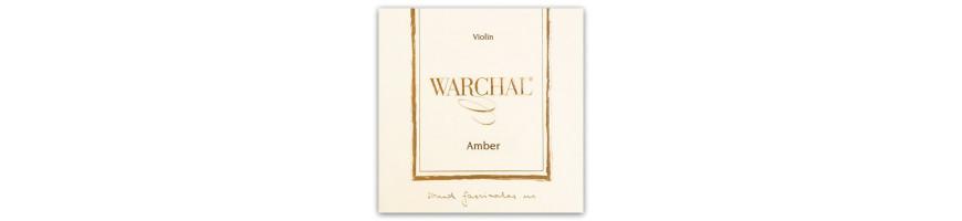 Cordes violon Warchal Amber