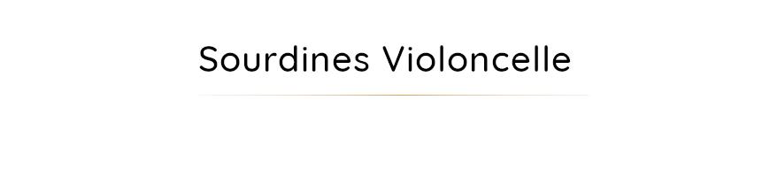 Sourdines pour violoncelle