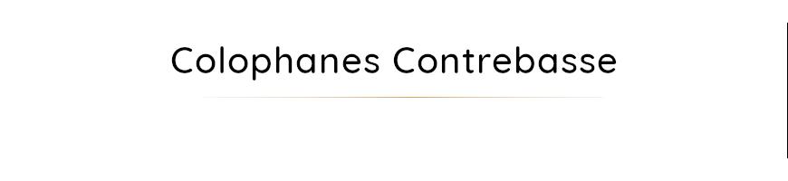 Colophanes pour contrebasse